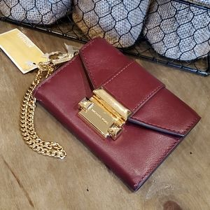 MICHAEL Kors | Whitney Small Leather Chain Wallet